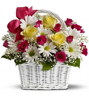 mom's darling daisies flower bouquets  a charming, Beautiful flower